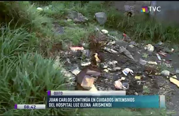 Juan Carlos continúa en cuidados intensivos en el hospital Luz Elena Arismendi