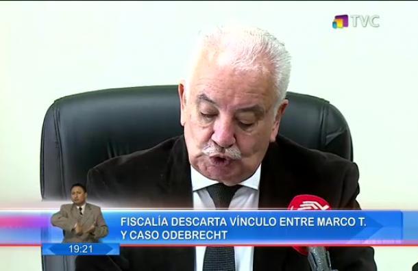 Fiscalía descartó vínculo entre el caso Odebrecht y Mauro T.