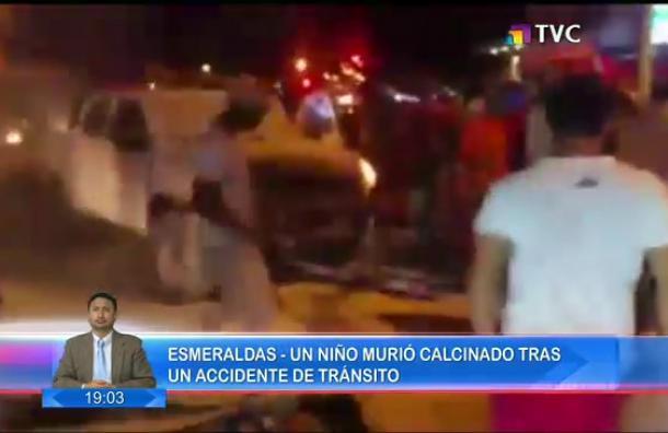 Accidente de tránsito dejó a un menor de edad fallecido