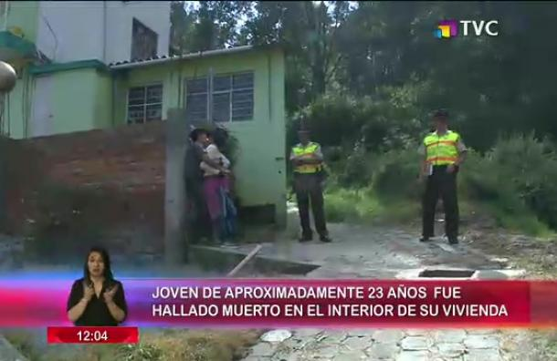 Joven fue hallado muerto en el interior de su vivienda