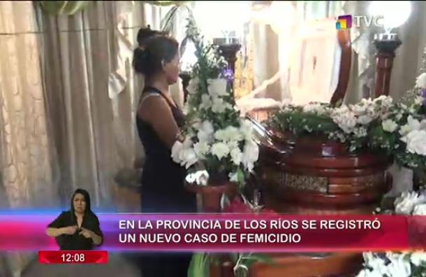 Nuevo caso de femicidio se registró en la Provincia de Los Ríos