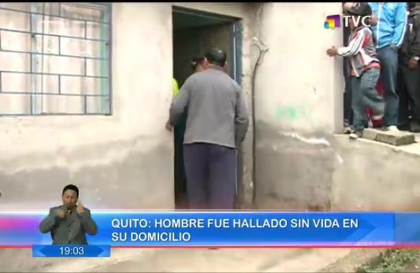 Hombre fue encontrado muerto en el norte de Quito