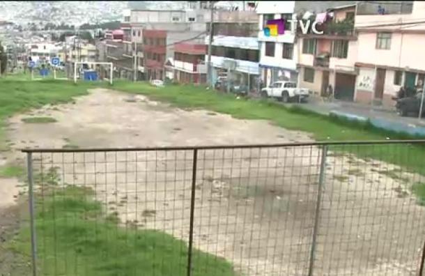 Vecinos de El Pintado exigen arreglo del parque de la zona