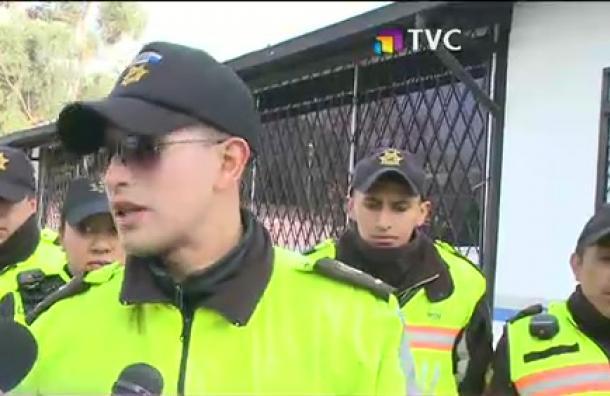 Detienen a delincuente de banda que utilizaba prendas policiales para robar a personas