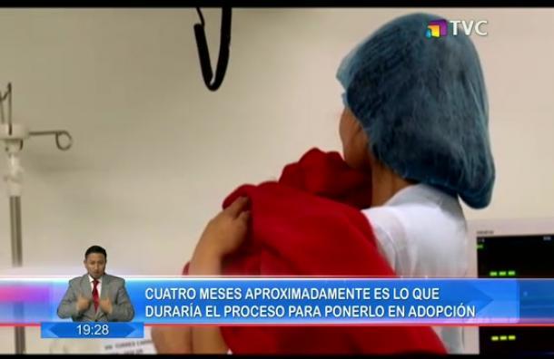 Continúan las buenas noticias para el bebé que fue abandonado