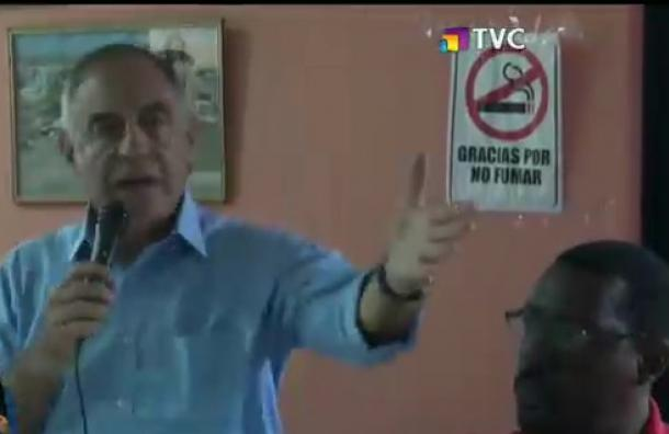 Paco Mancayo estuvo en Santo Domingo