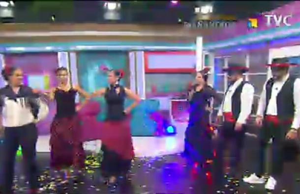 Nuestros Mañaneros se aventuraron con el flamenco