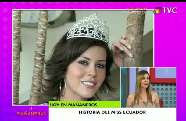 La historia del Miss Ecuador