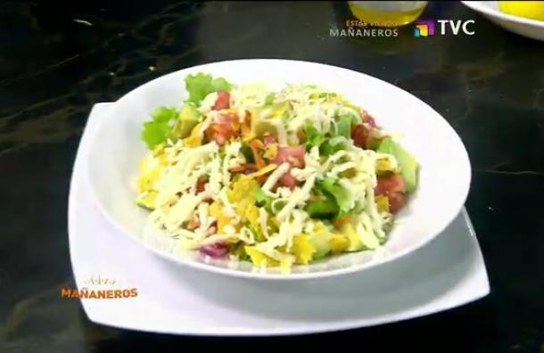 La Cocina del Gordo: Ensalada multicolor