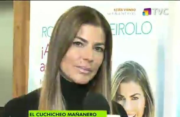Roxana Queirolo visitó la capital y Mañaneros estuvo con ella
