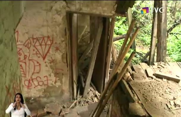 Vivienda está a punto de colapsar en Quito