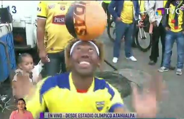 Ya se vive la emoción en el Estadio Olímpico Atahualpa