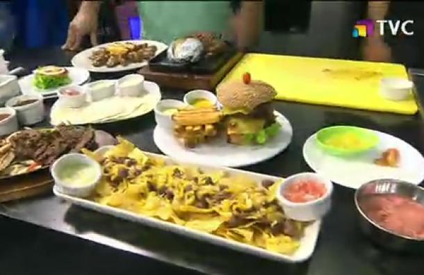 La Cocina del Gordo: Nachos y hamburguesas