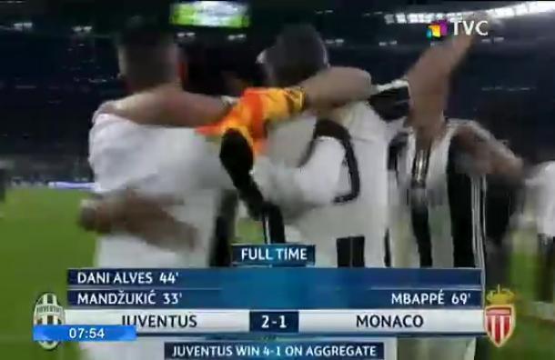 Juventus es el primer finalista de la UEFA Champions League