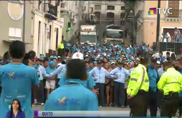 Se realizó la carrera 10K de la Policía Metropolitana