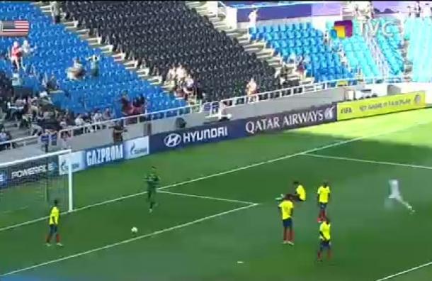 Ecuador empató a 3 goles en la Copa Mundial de Fútbol Sub-20