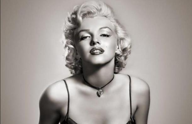 En blanco y negro: Marilyn Monroe