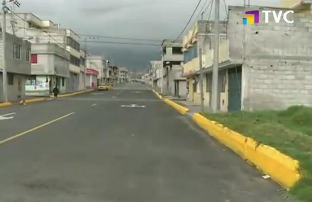 Entregan vía rehabilitada en Caupicho