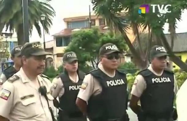 Operativo de seguridad Carnaval de Amaguaña 2019