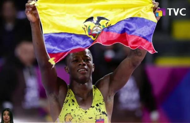 Andrés Montaño consiguió la quinta medalla de oro para Ecuador