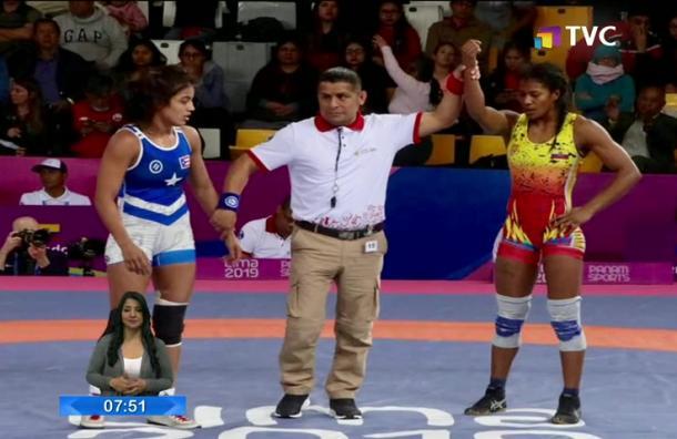 Lissette Antes ganó la sexta medalla de oro para Ecuador