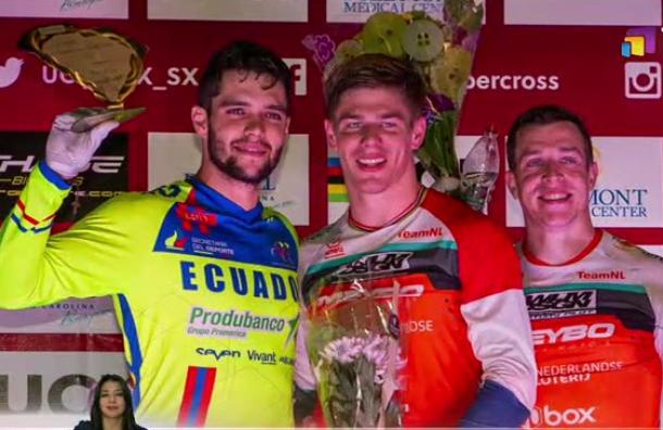 BMX: Alfredo Campo se proclamó subcampeón de la Copa Mundo UCI