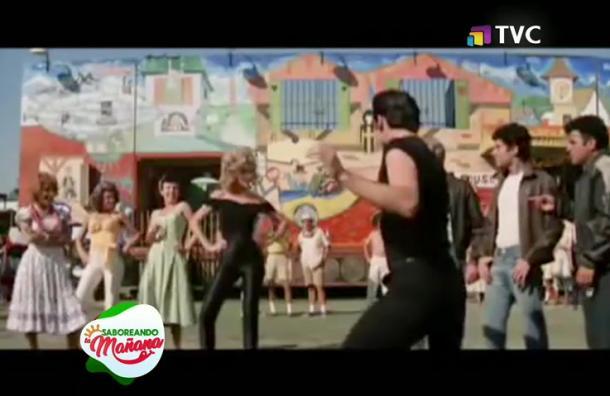 Travolta y Newton-John reviven 'Grease'