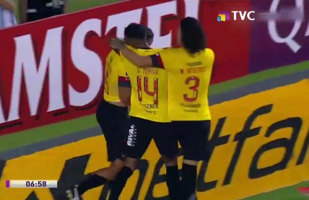 Barcelona y Emelec ganaron sus partidos en torneos internacionales