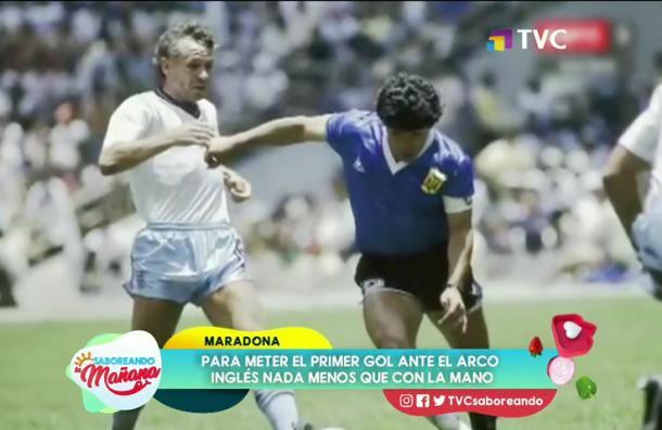 Recordamos 'La Mano de Dios' de Maradona