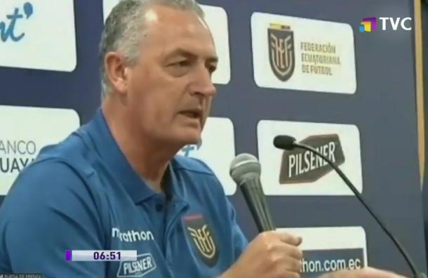 DT de la Selección Nacional lamentó la ausencia de Johan Padilla