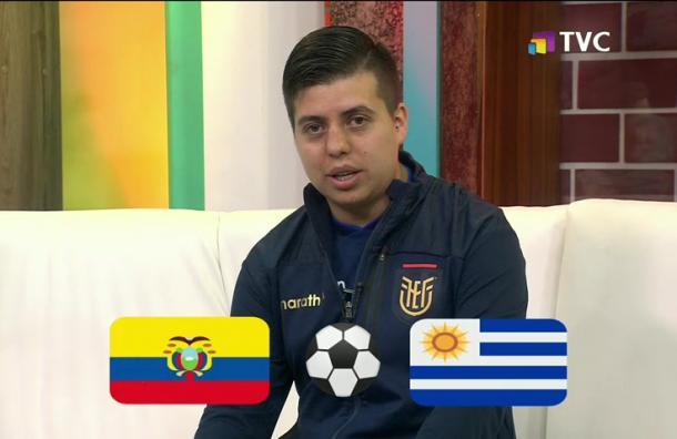 Andrés Villamarín analiza previa de Ecuador versus Uruguay