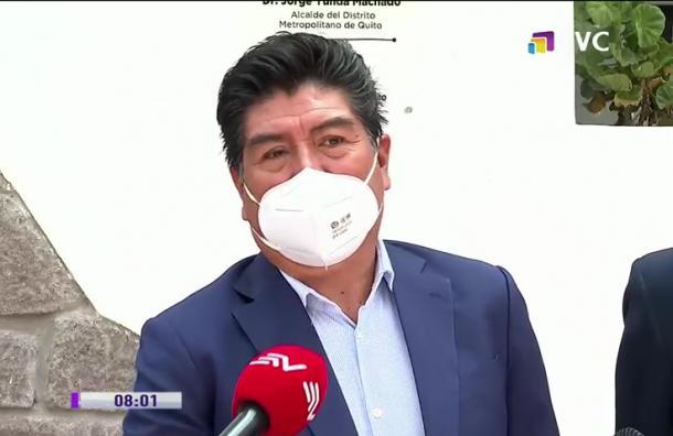 Alcalde de Quito suspende actividades públicas de diciembre