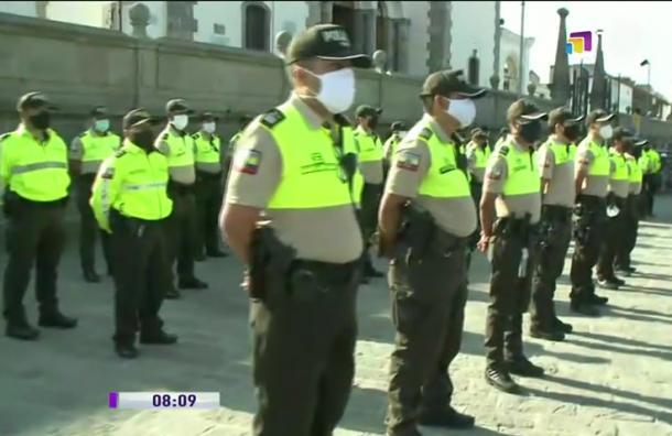 Policía Nacional prepara operativo en El Quinche