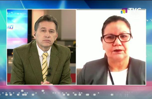 Gavilánez: »El diálogo es muy importante y lo que pedimos es que se aplique el artículo 25»
