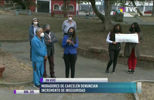Habitantes de Carcelén denuncian incremento de inseguridad