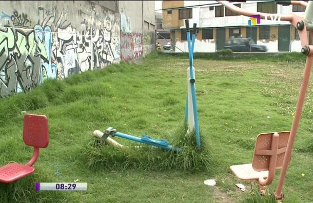 Moradores de Matovelle piden mantenimiento del parque